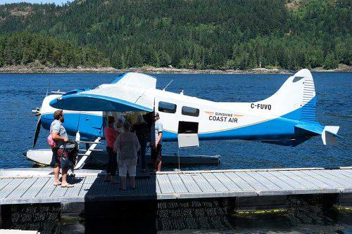Float Plane at dock