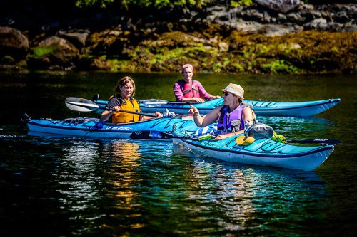 Kayak Sechelt Inlet