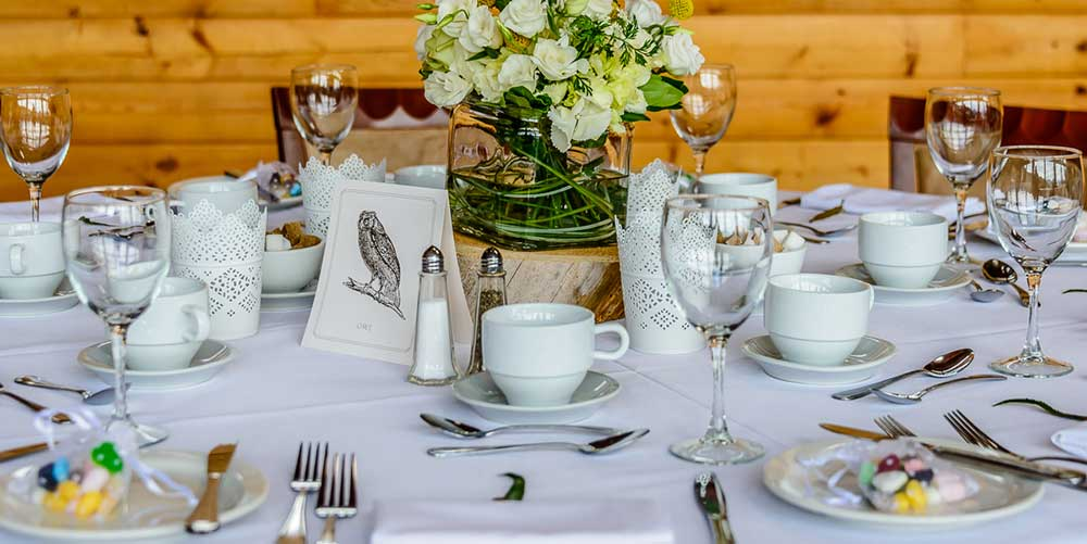 Wedding Dining Decor