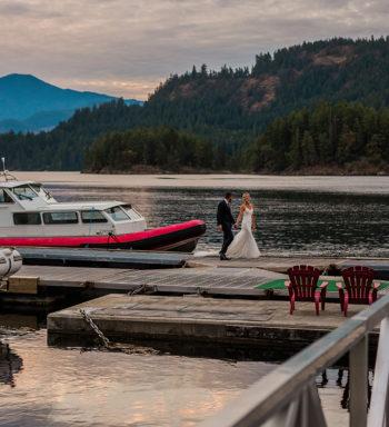 Weddings setting