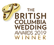 BC Wedding Award winner 2019